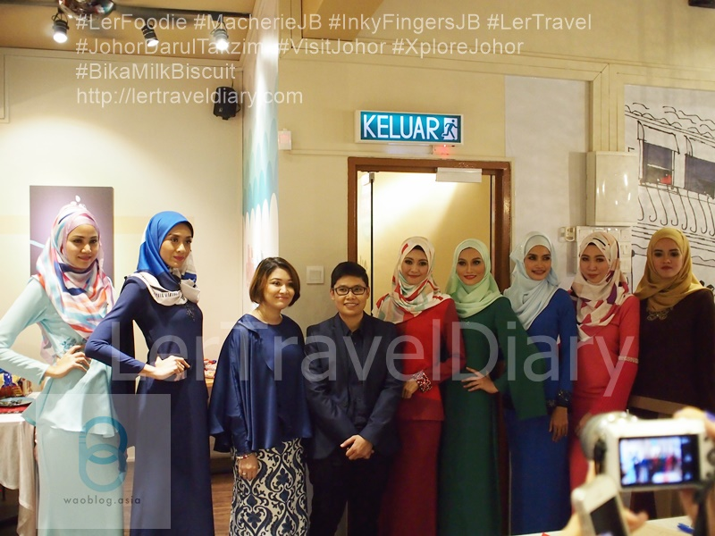 The first media launch combines with Raya Fashion Show from Chic Pavo Boutique.