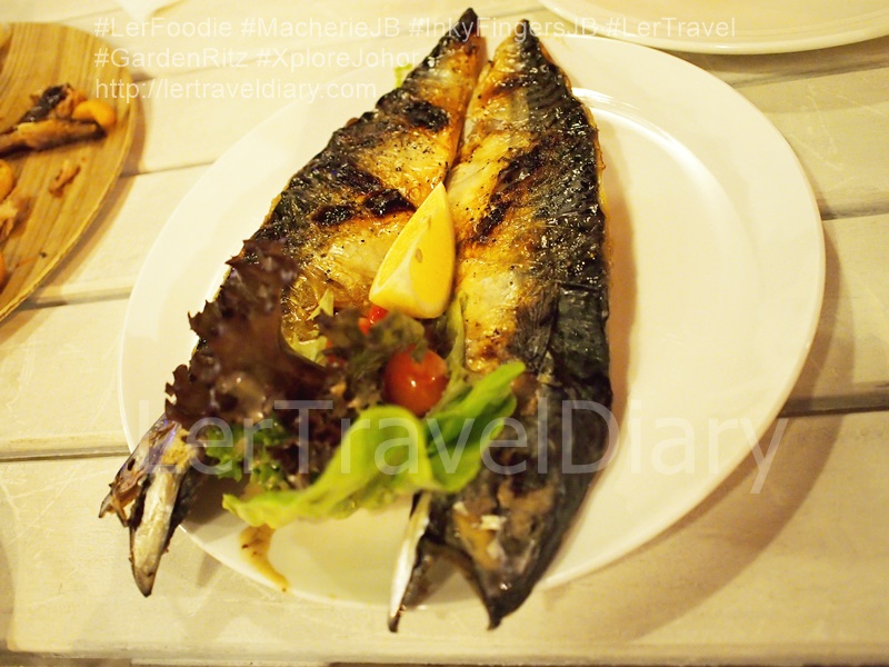 Grilled Mackerel Saba Fish RM34.00