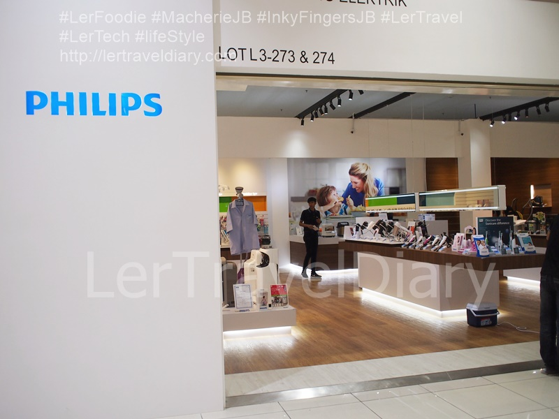 Philips lifestyle store is in Sutera Mall, Johor Bahu.