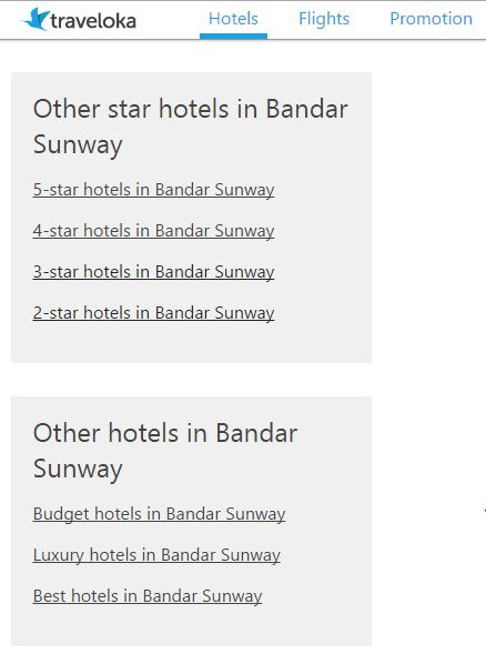 Easy to compare and book. You can choose hotels based on your needs