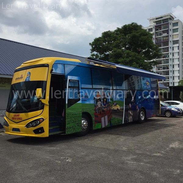 EDUPLAY express bus will be visiting over 500 schools in Peninsular Malaysia, starting from Johor, allowing students to participate in fun, educational and interactive activities that is closely designed to LEGO's DNA.