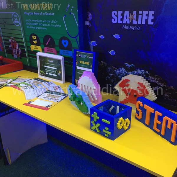 Different edutainment materials for students to learn and play.